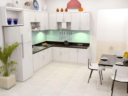 bếp và phòng ăn thiết kế xây dựng nhà 2 tầng