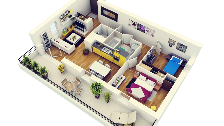 báo giá thiết kế nội thất chung cư 1