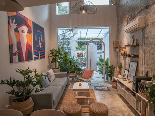 Bí quyết thiết kế nhà nhỏ đẹp thông thoáng và tiện nghi