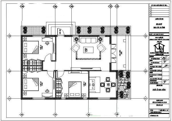 biệt thự 1 tầng phong cách châu âu 12