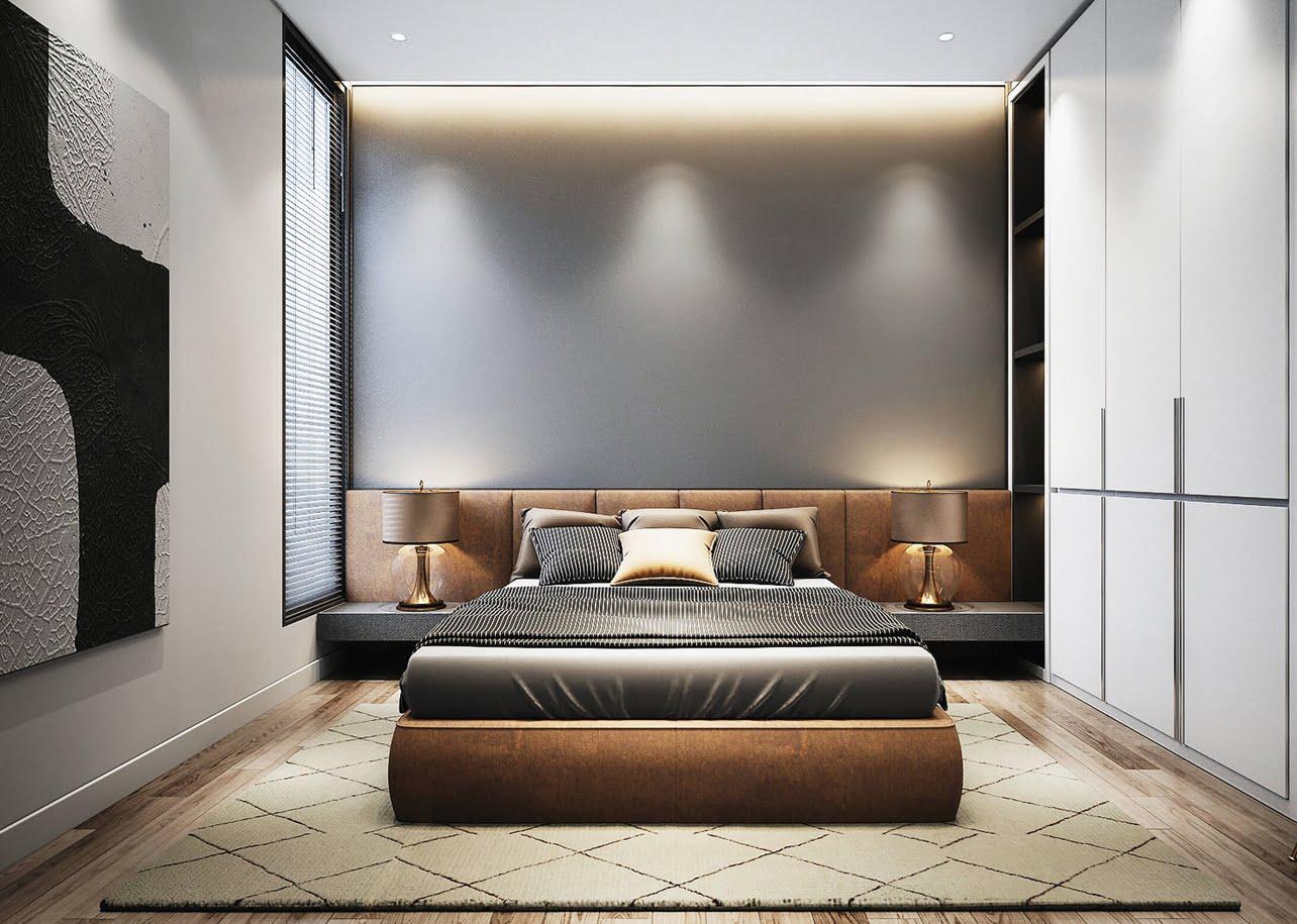 biệt thự 10x20m phòng ngủ