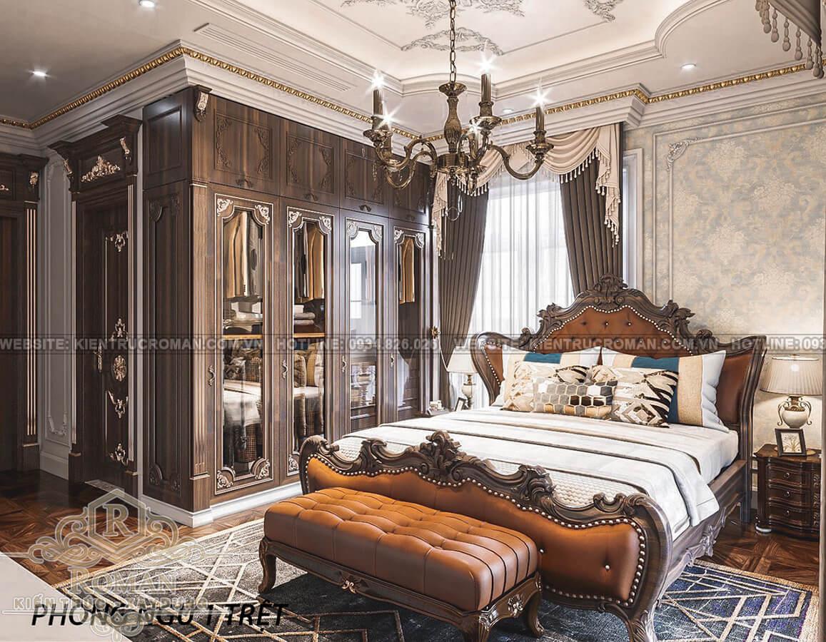 biệt thự 2 mặt tiền đẹp phòng ngủ 1