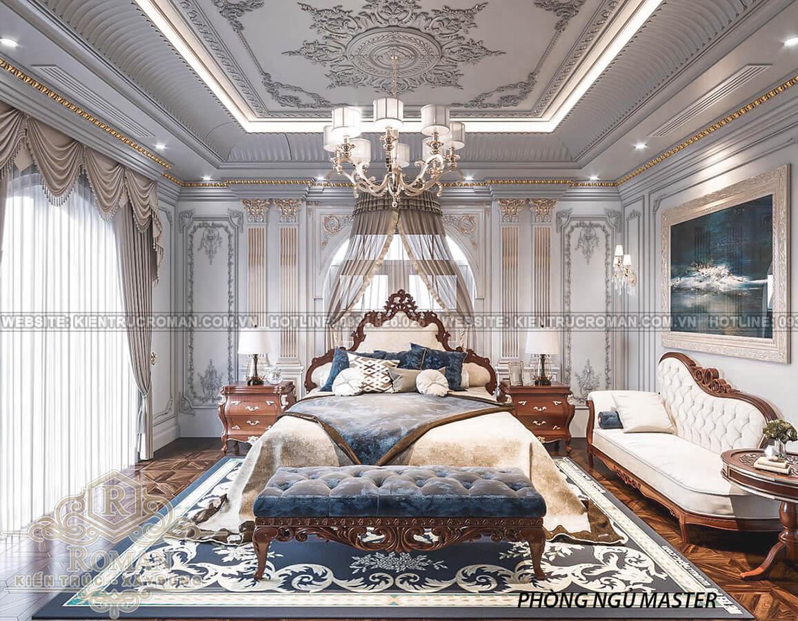 biệt thự 2 mặt tiền đẹp phòng ngủ master