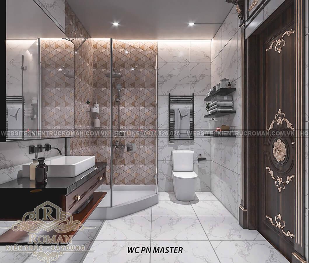 biệt thự 2 mặt tiền đẹp phòng tắm master