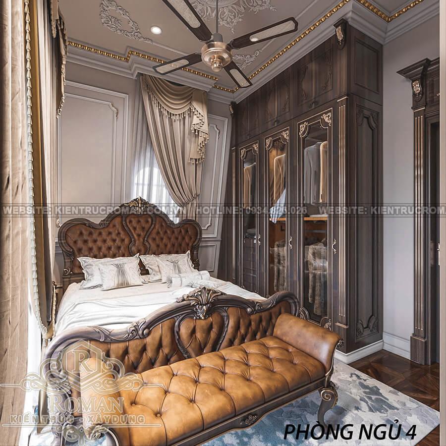 biệt thự 2 mặt tiền đẹp phòng ngủ khách