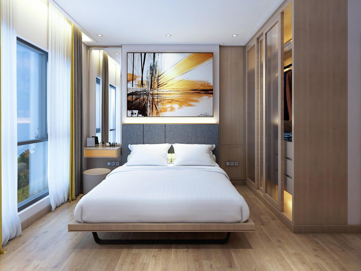 biệt thự 2 mặt tiền hiện đại phòng ngủ