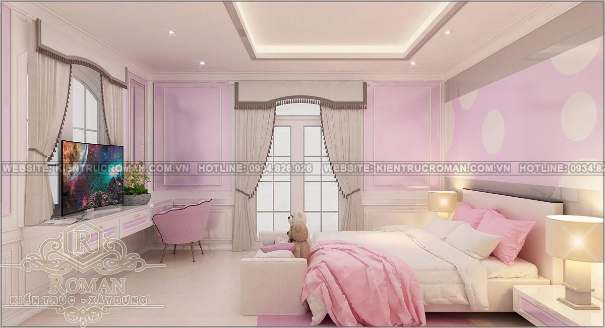 biệt thự 2 tầng 1 tum phòng ngủ