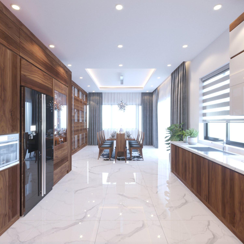 biệt thự 2 tầng 100m2 mái thái hiện đại 9