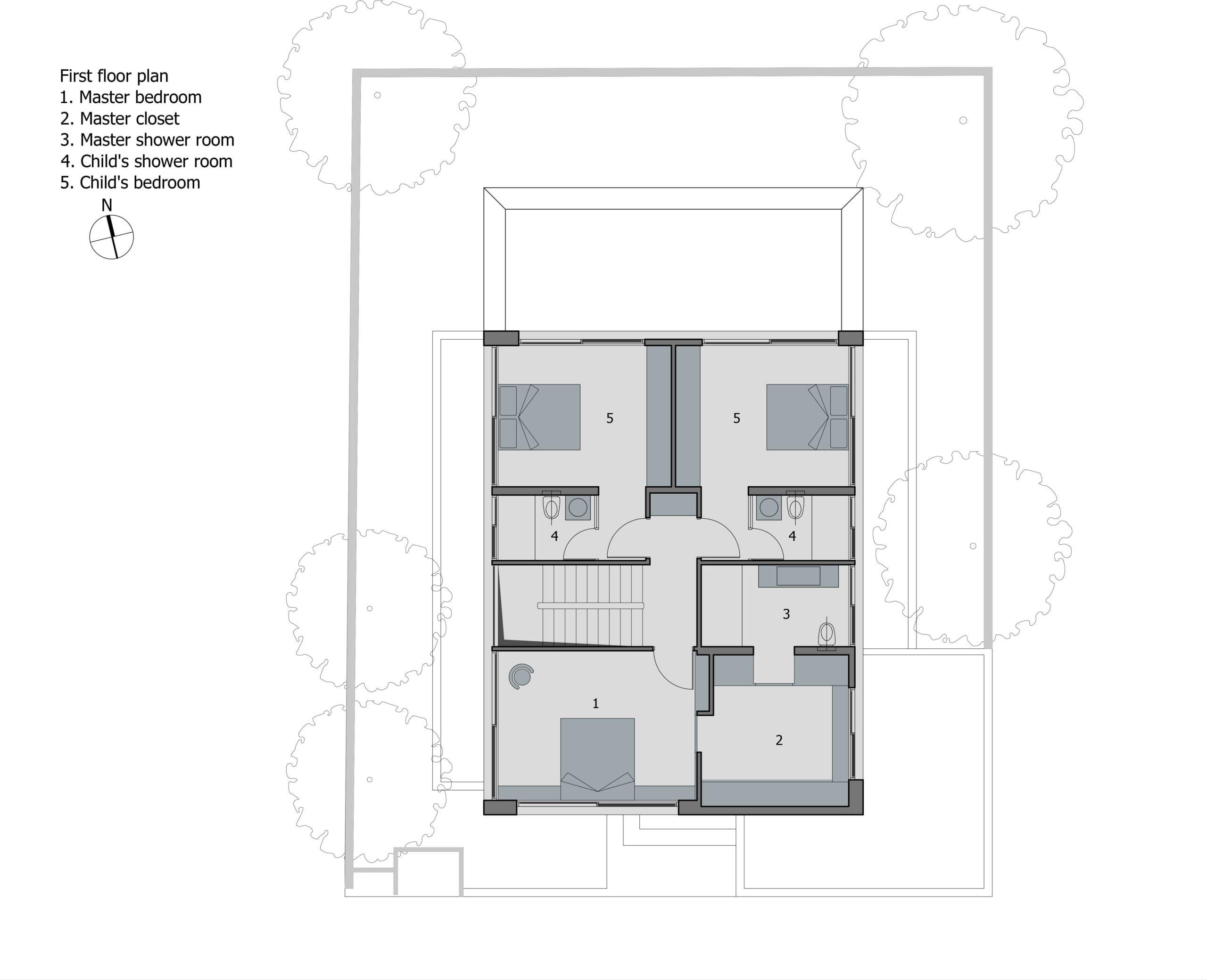 biệt thự 2 tầng 300m2