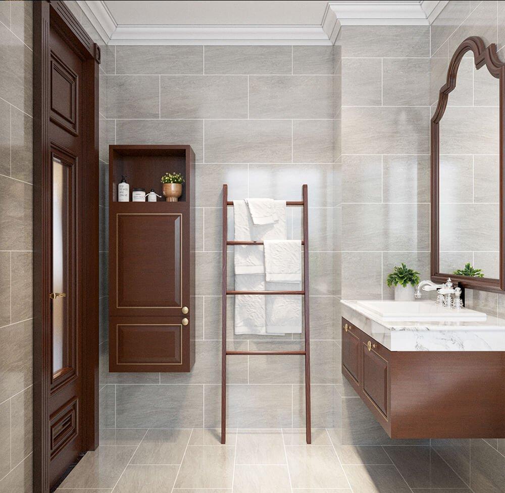 biệt thự 2 tầng bán cổ điển phòng tắm