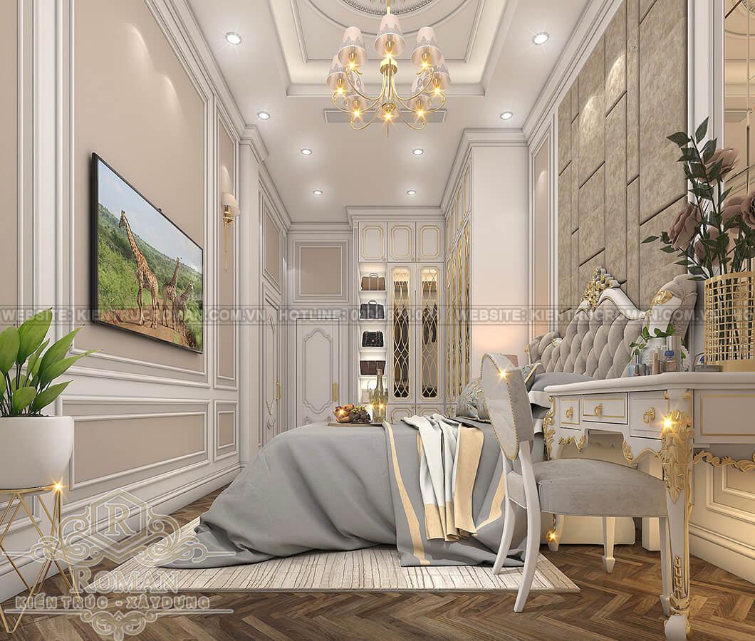 biệt thự 2 tầng có sân thượng phòng ông bà