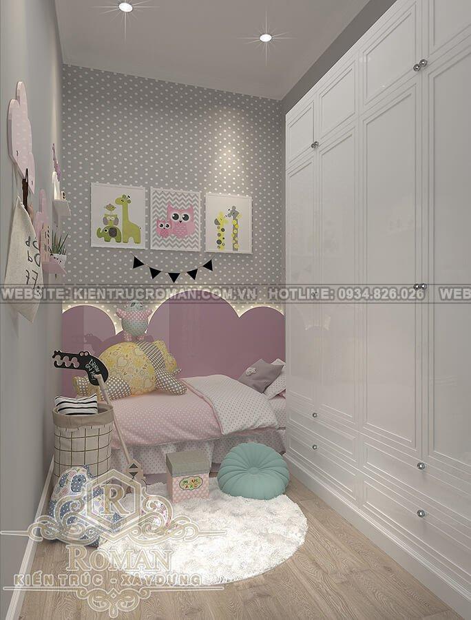 biệt thự 2 tầng kiểu châu âu phòng con gái