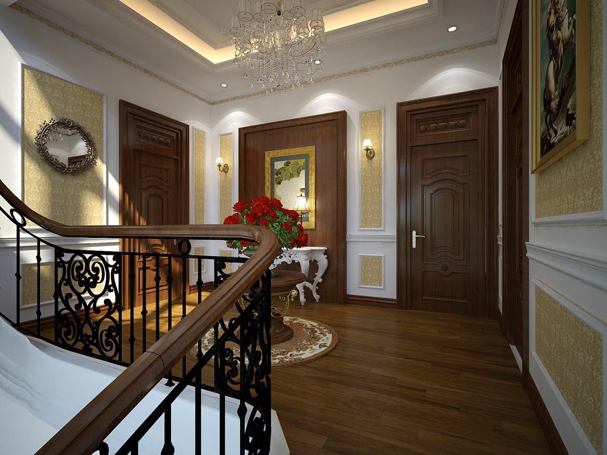 biệt thự 2 tầng kiểu Pháp