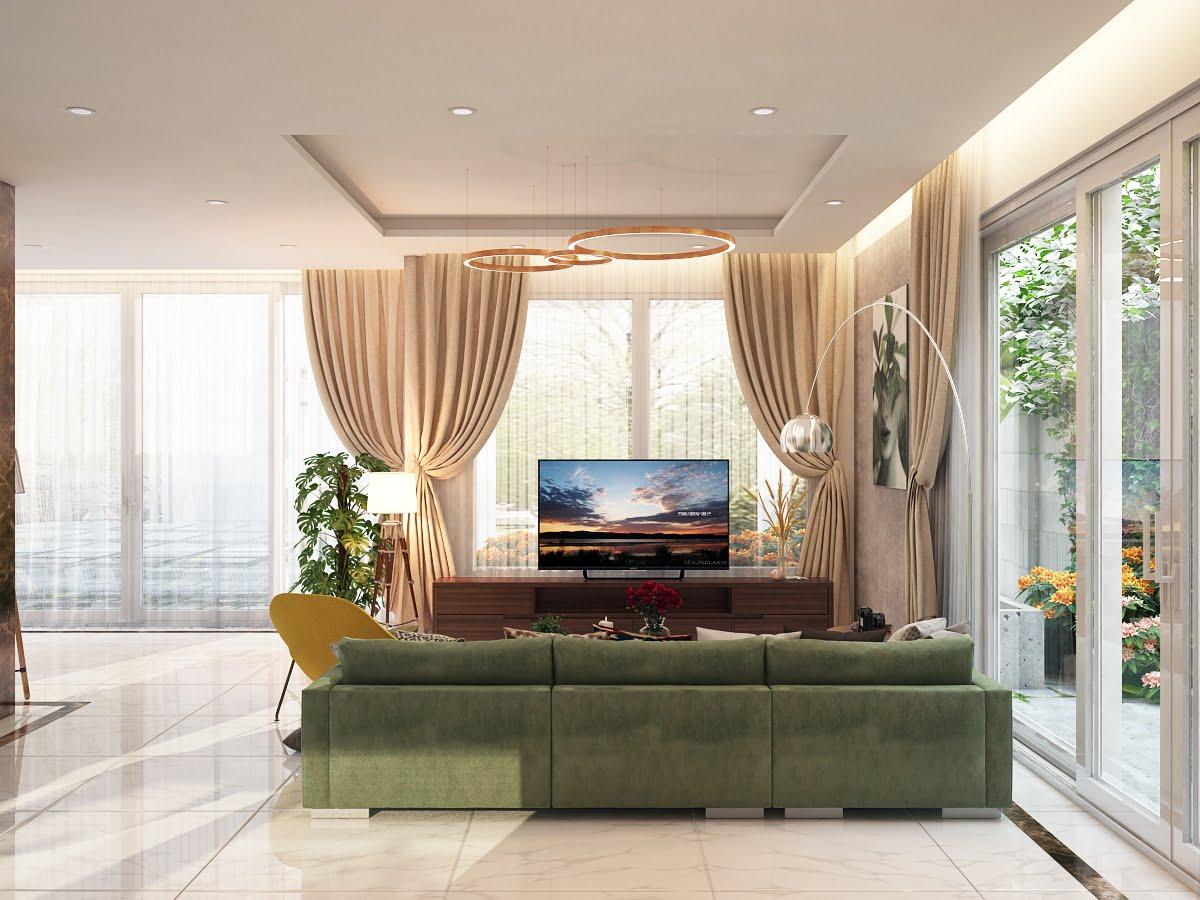 biệt thự 2 tầng mái thái hiện đại đẹp 7