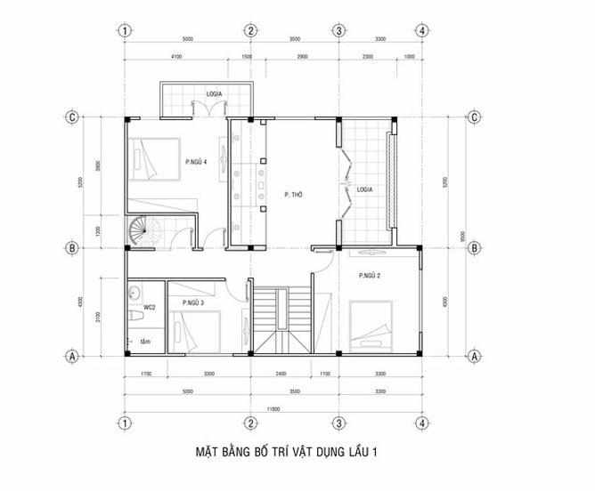 biệt thự 2 tầng tân cổ điển 12x18m