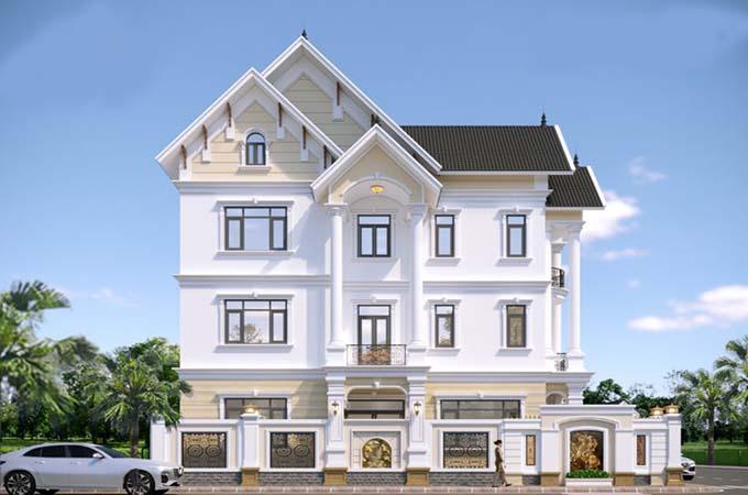 mẫu biệt thự 3 tầng 10x13m đẹp 3