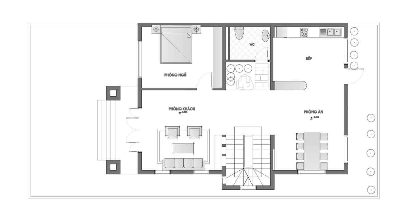 biệt thự 3 tầng 10x18 4