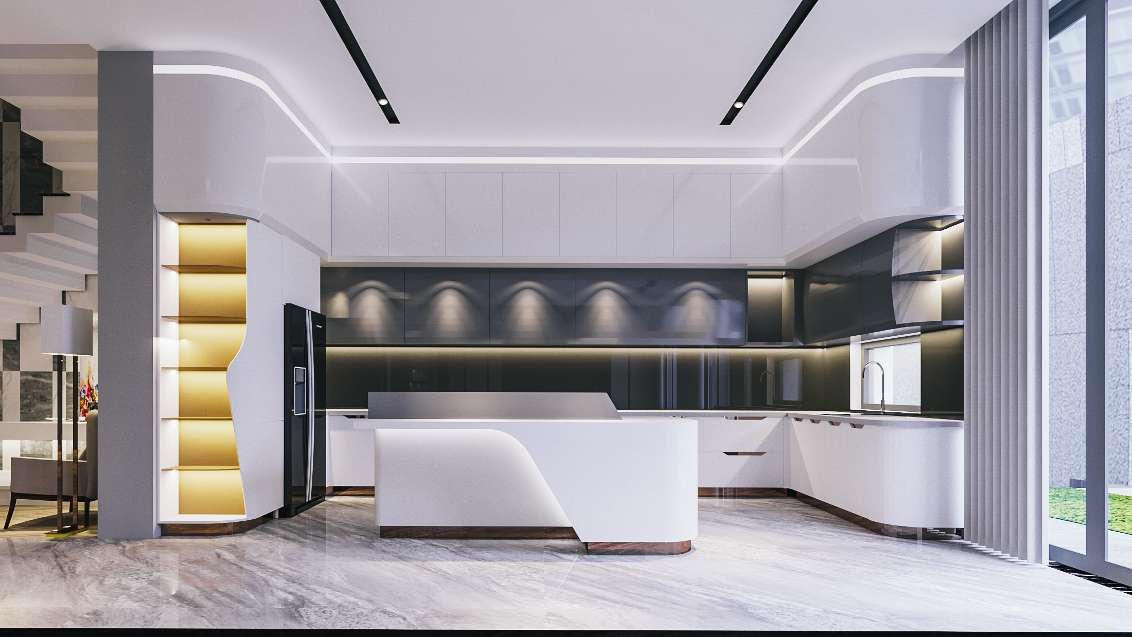 biệt thự 3 tầng 150m2 hiện đại đẹp 10