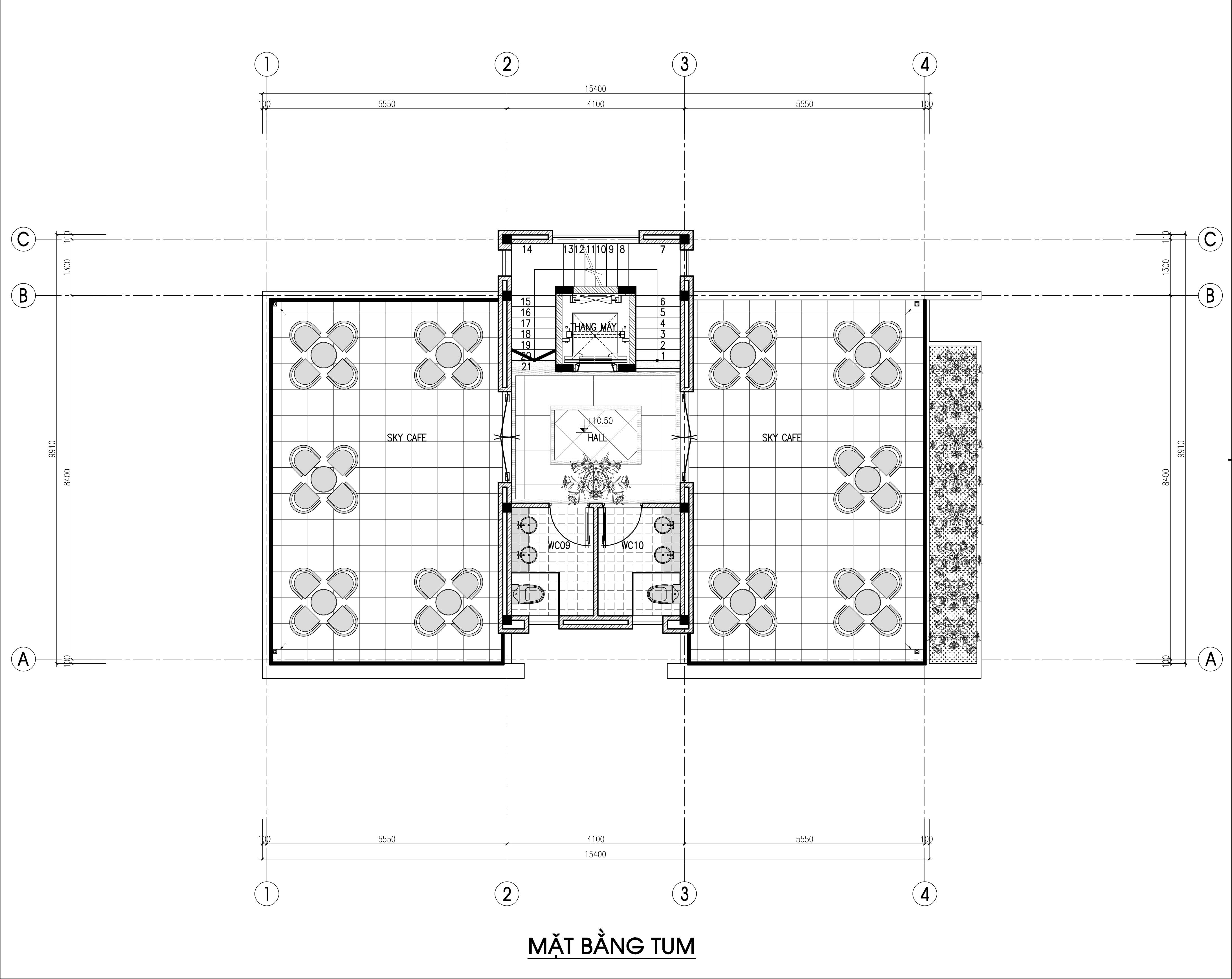 biệt thự 3 tầng 150m2 hiện đại đẹp 6