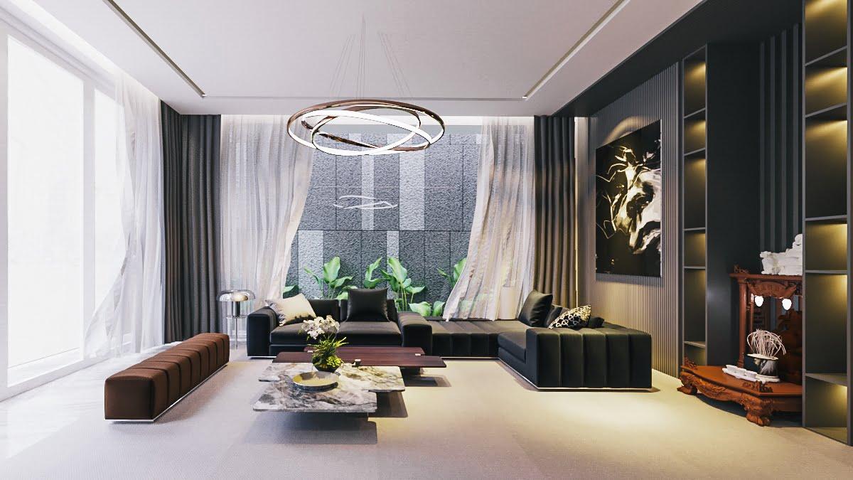 biệt thự 3 tầng 150m2 hiện đại đẹp 7