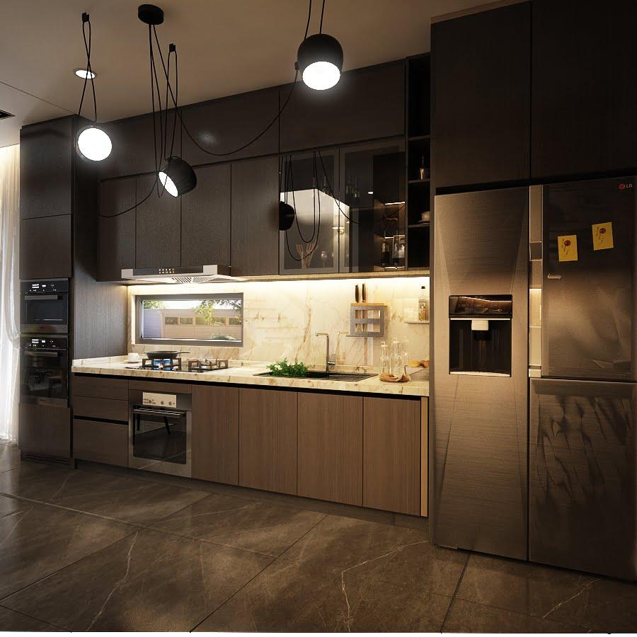 biệt thự 3 tầng 15x20m hiện đại 12