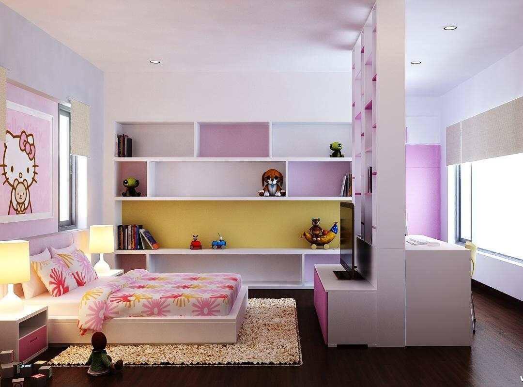 biệt thự 3 tầng 16x20m phòng trẻ em