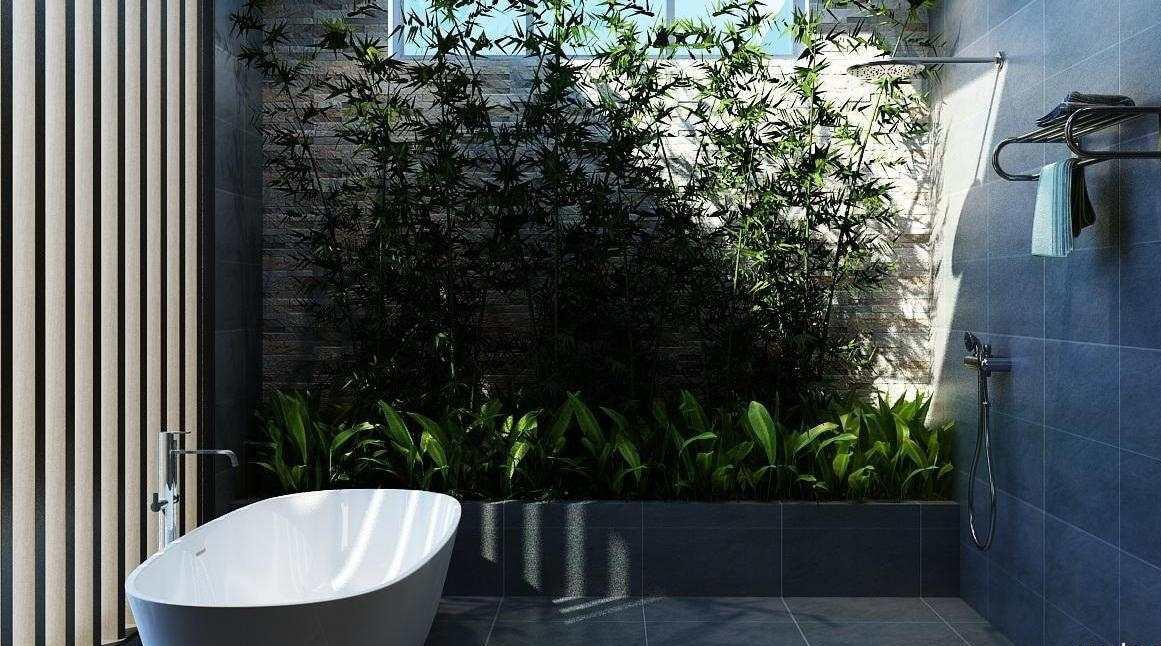 biệt thự 3 tầng 16x20m phòng tắm