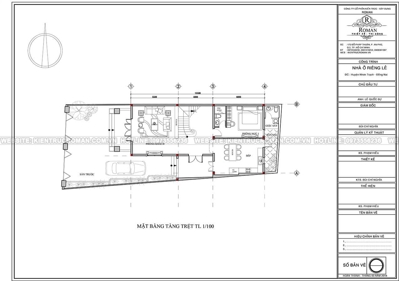 biệt thự 3 tầng 2 mặt tiền 3