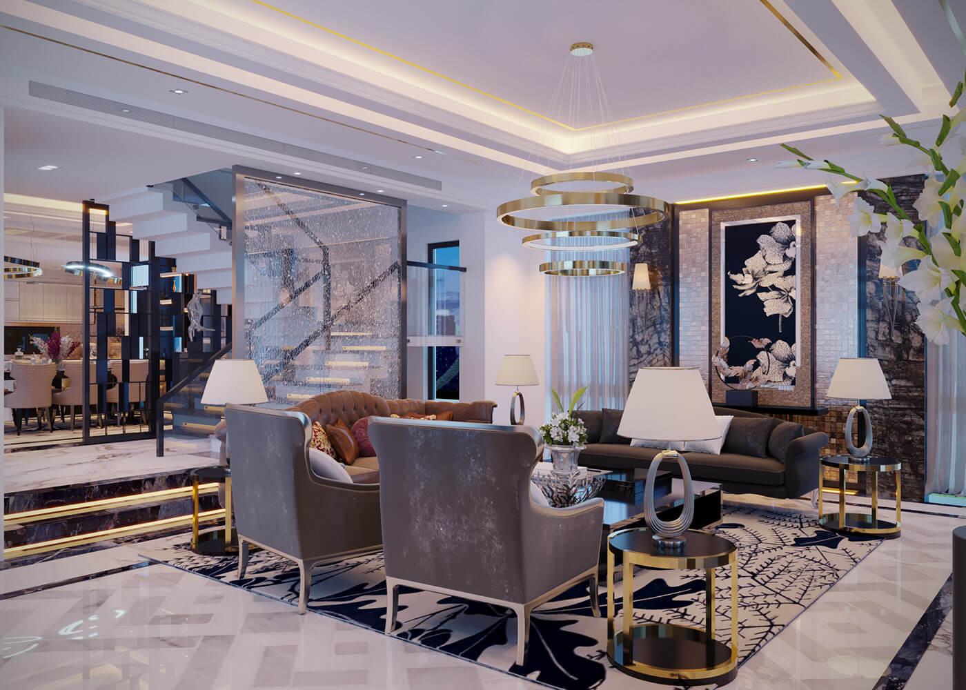 biệt thự 3 tầng 240m2