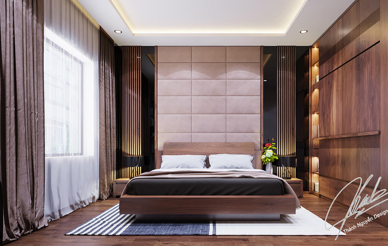 biệt thự 3 tầng 400m2 phòng ngủ