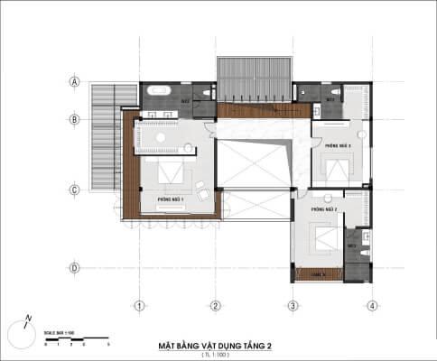 biệt thự 3 tầng 400m2
