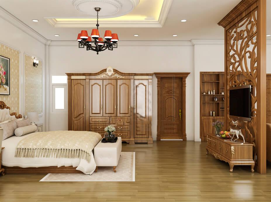 biệt thự 3 tầng 7 phòng ngủ phòng ngủ