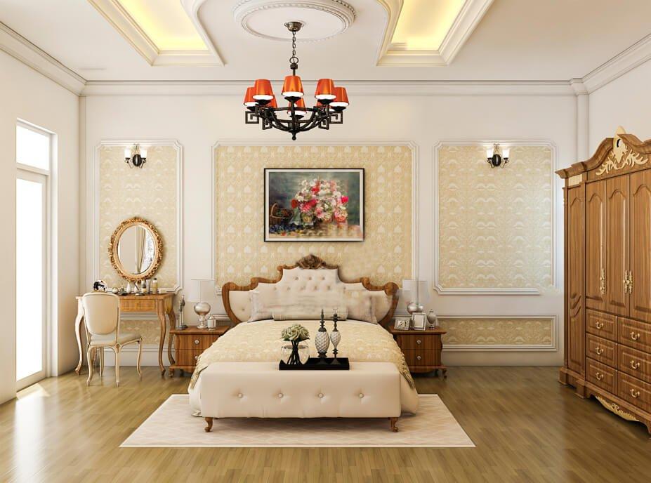 biệt thự 3 tầng có phòng giải trí phòng ngủ master