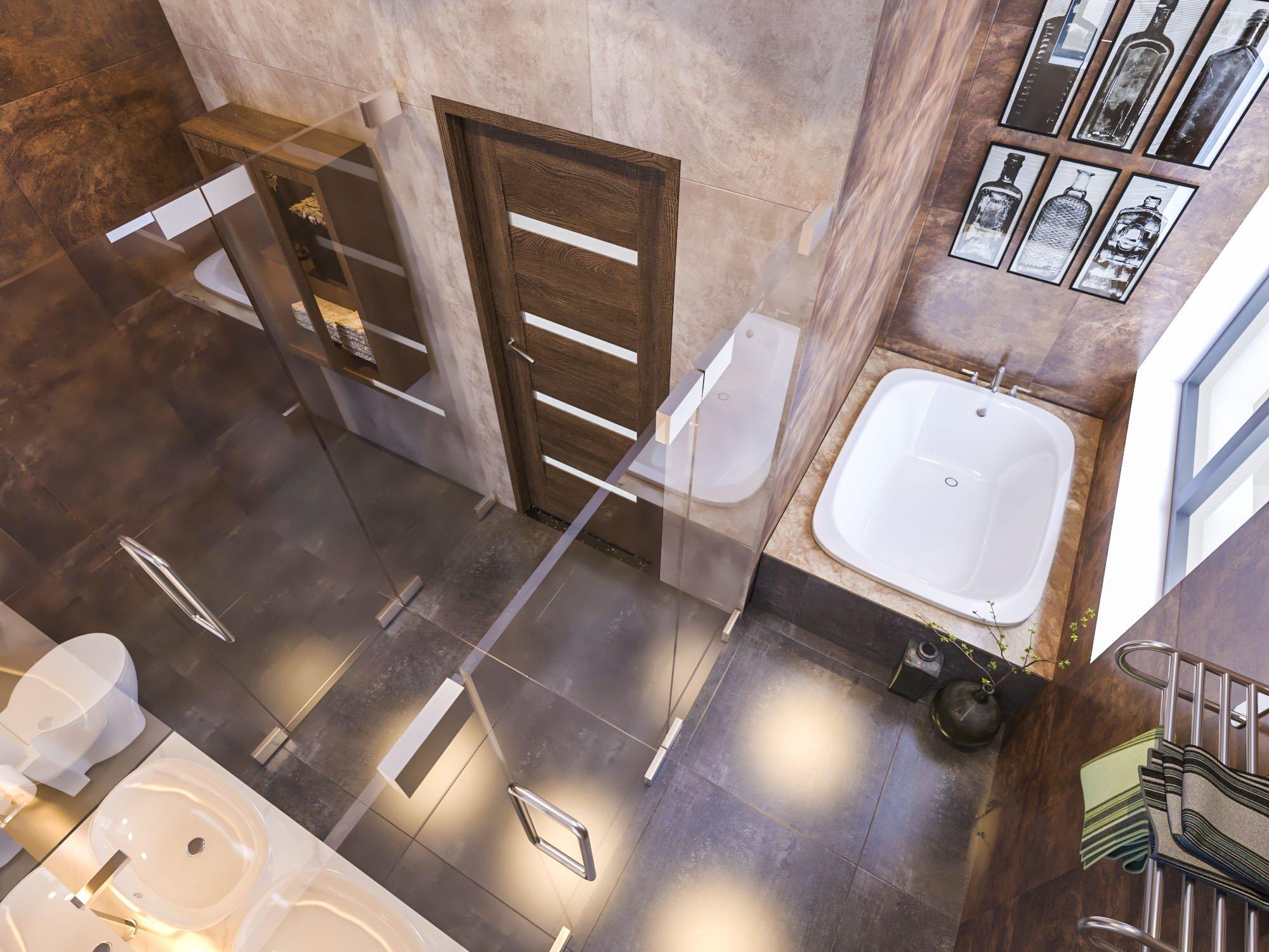 biệt thự 3 tầng có gara hiện đại đẹp 19