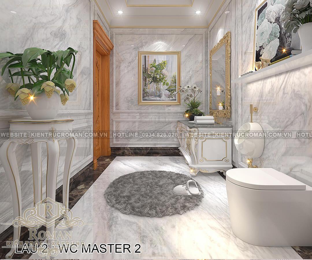 biệt thự 4 mặt tiền phòng tắm