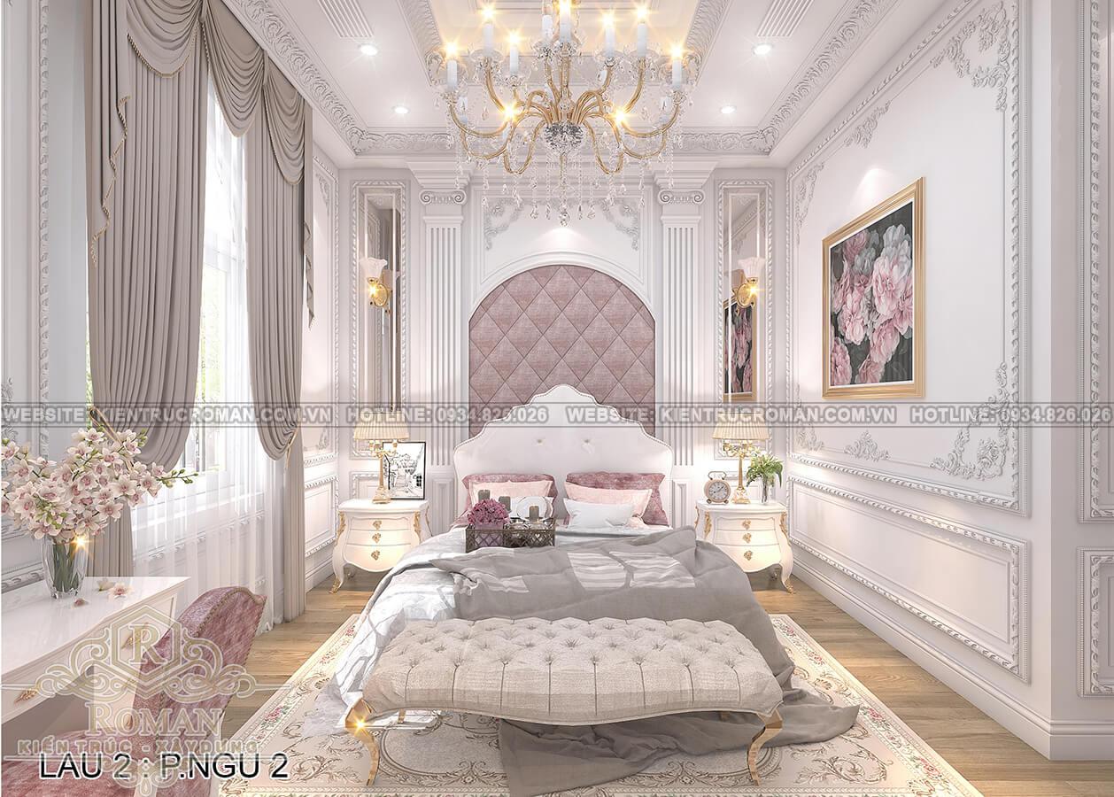 biệt thự 4 mặt tiền phòng ngủ con gái