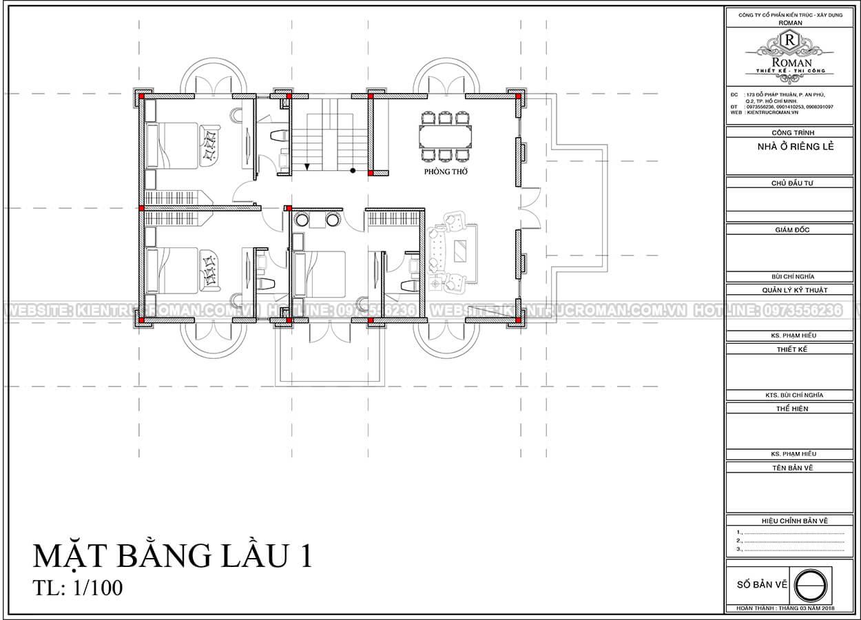 biệt thự 6 phòng ngủ 7