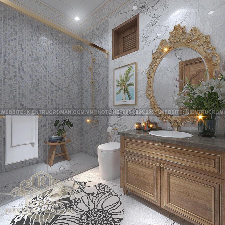 biệt thự 9x13 phòng tắm