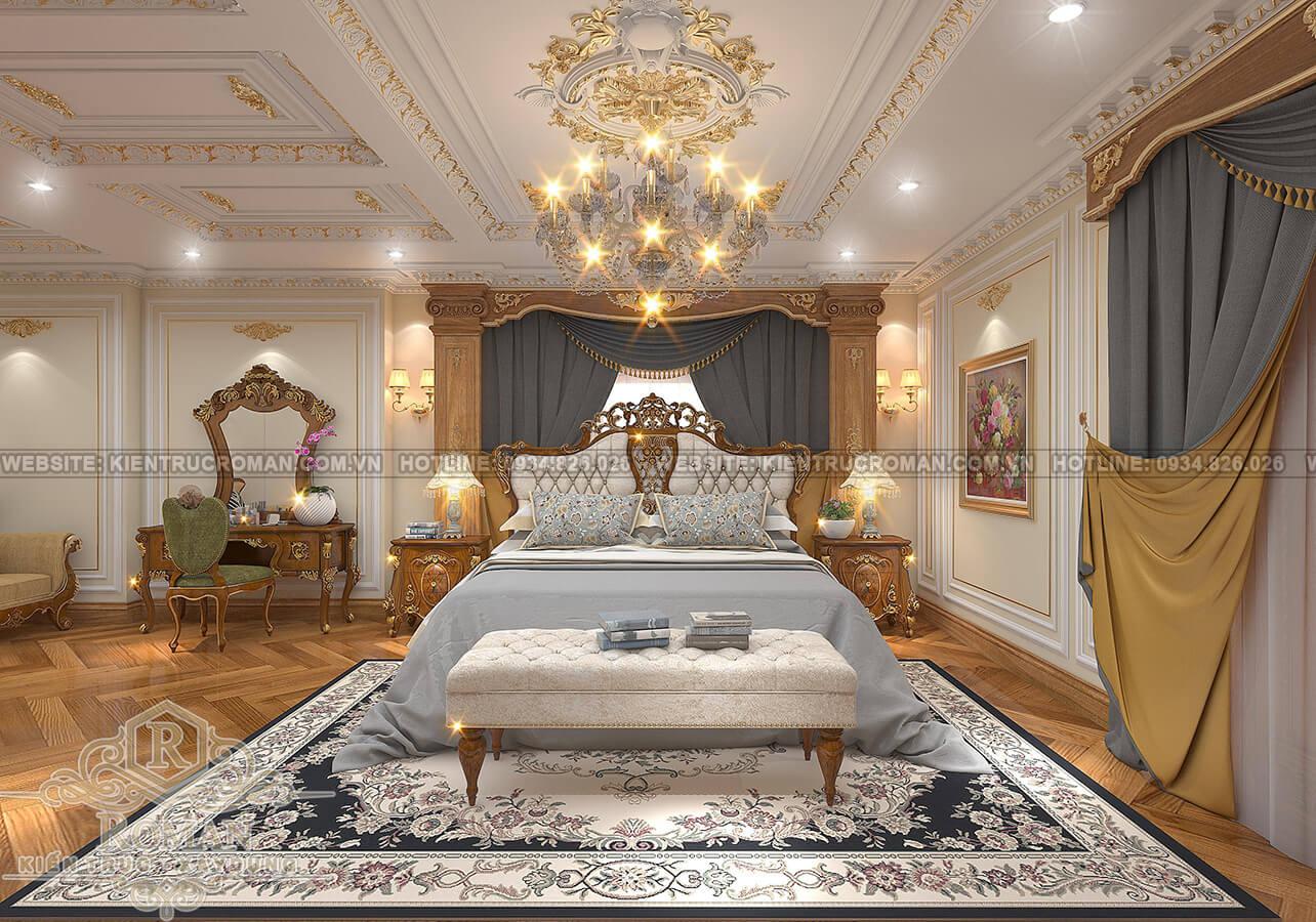 biệt thự 9x13 phòng ngủ master