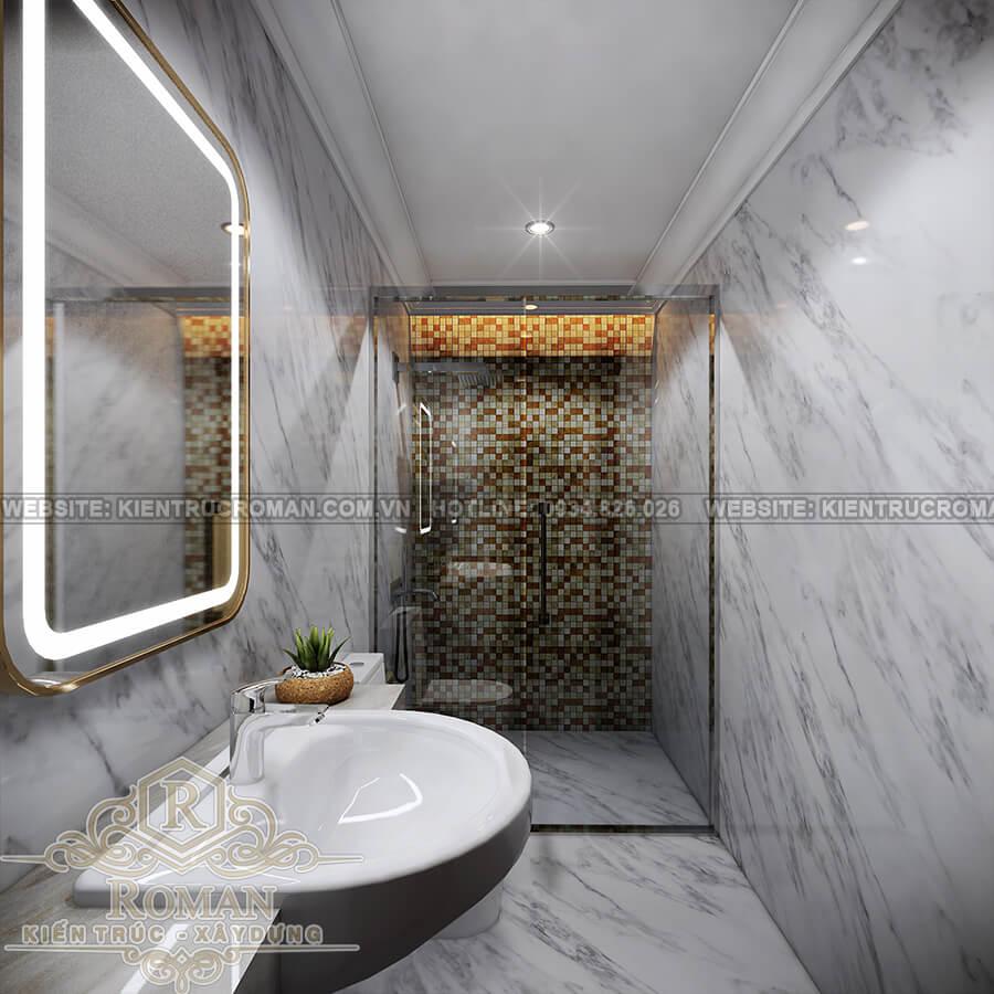 biệt thự 9x15 phòng tắm
