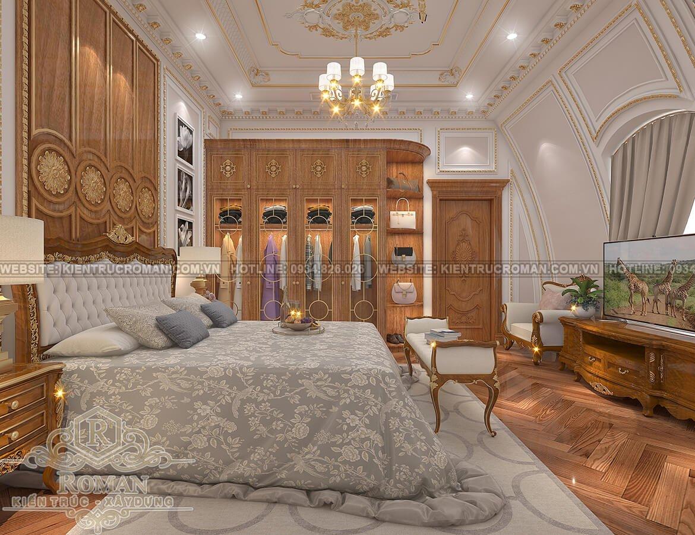 biệt thự 9x15 phòng ngủ master