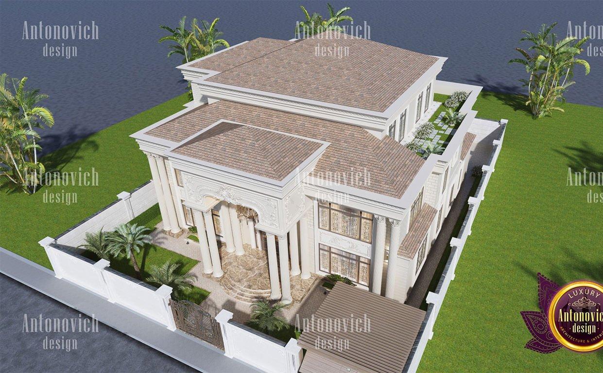 biệt thự cổ điển 10x18m