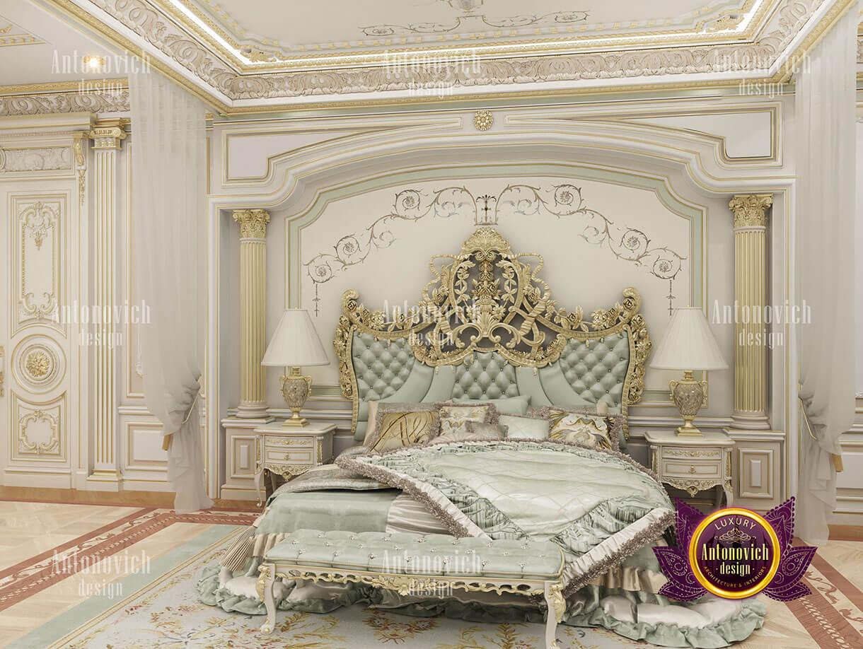biệt thự cổ điển 10x18m phòng ngủ master