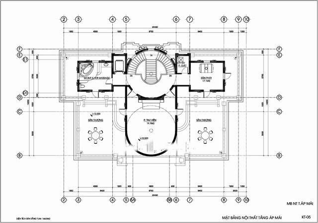 biệt thự cổ điển có tầng hầm