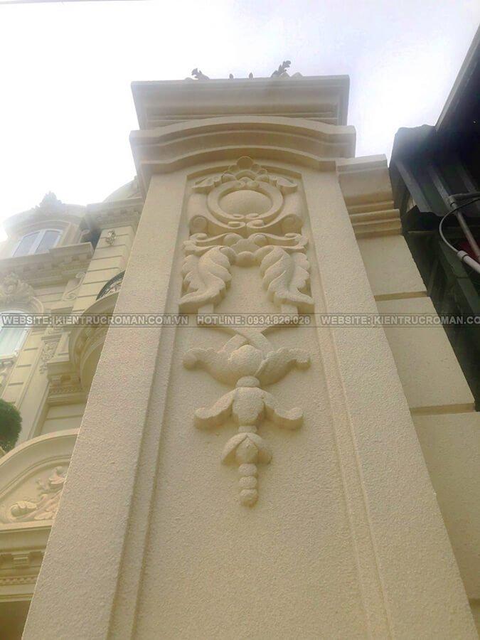 biệt thự cổ điển Pháp 4 tầng