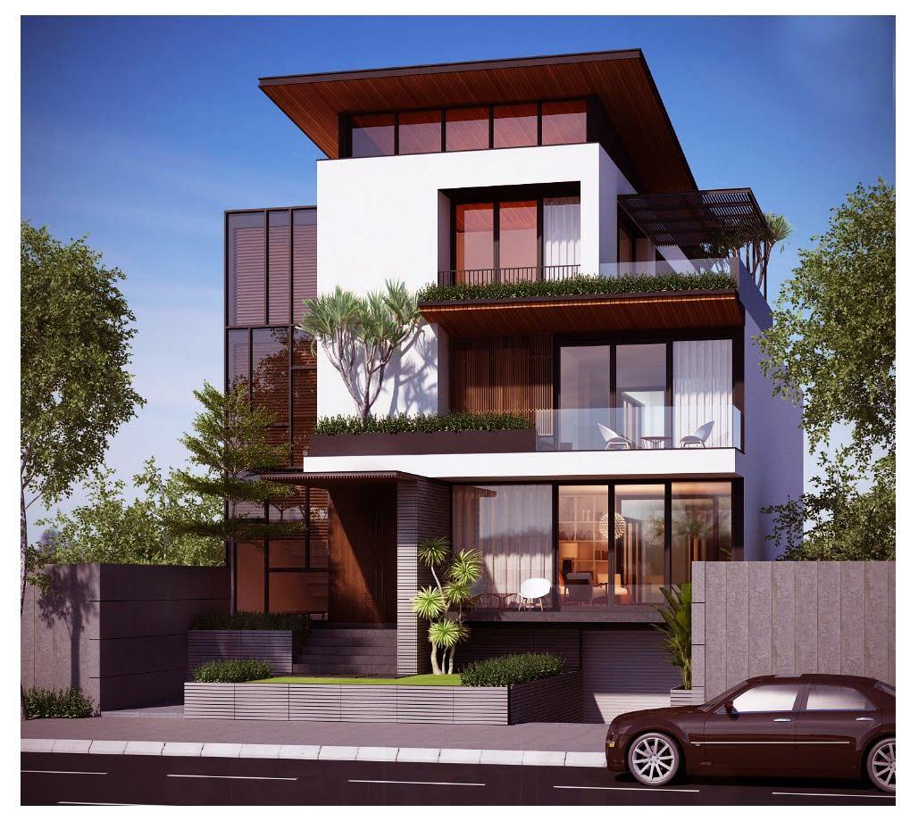 biệt thự đẹp phong cách hiện đại 11