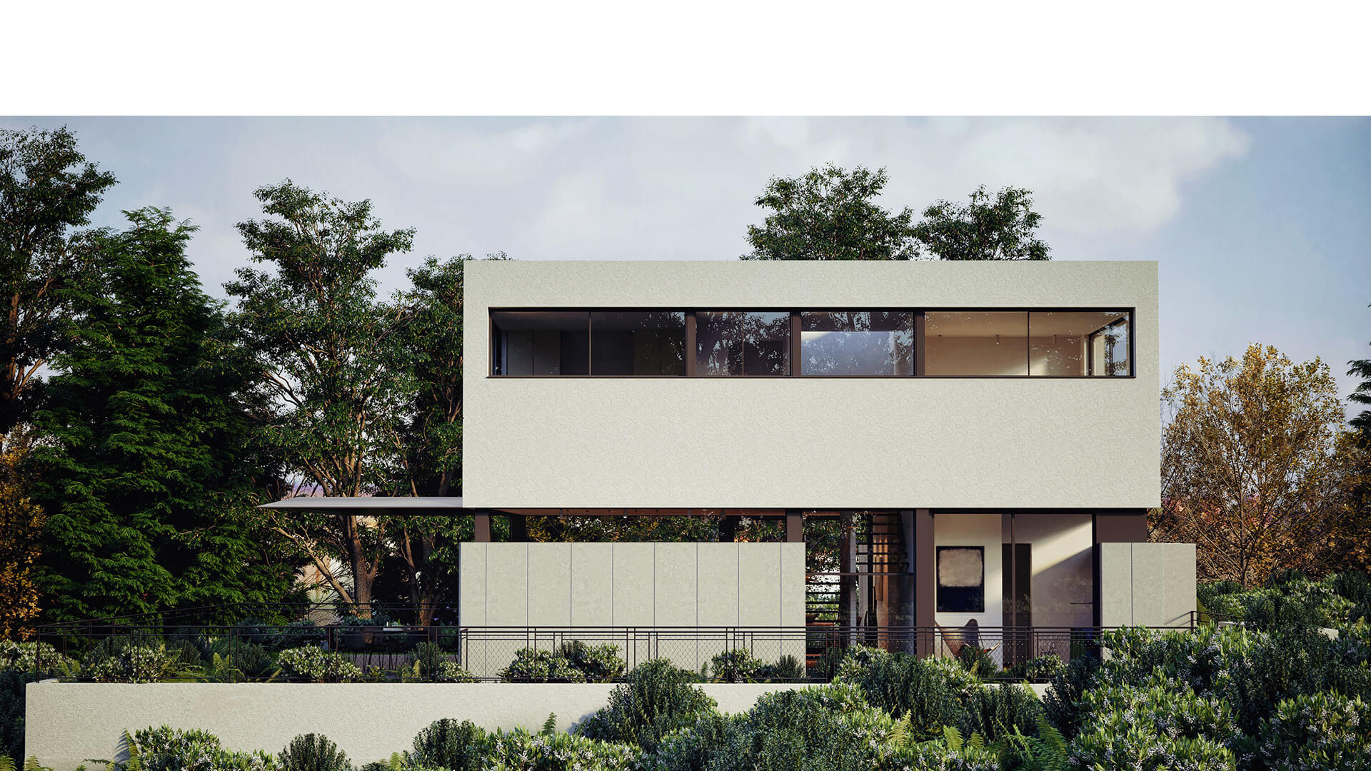 biệt thự đẹp phong cách hiện đại 19