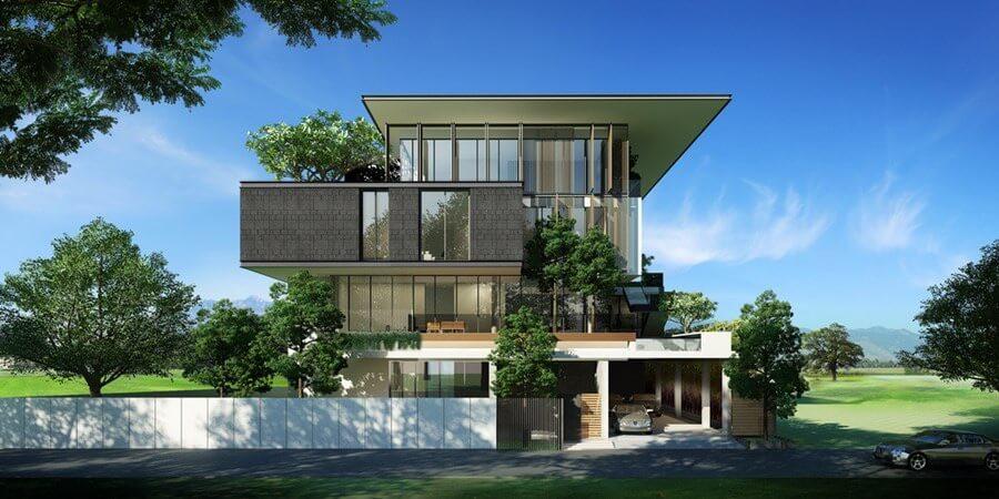 biệt thự đẹp phong cách hiện đại 48