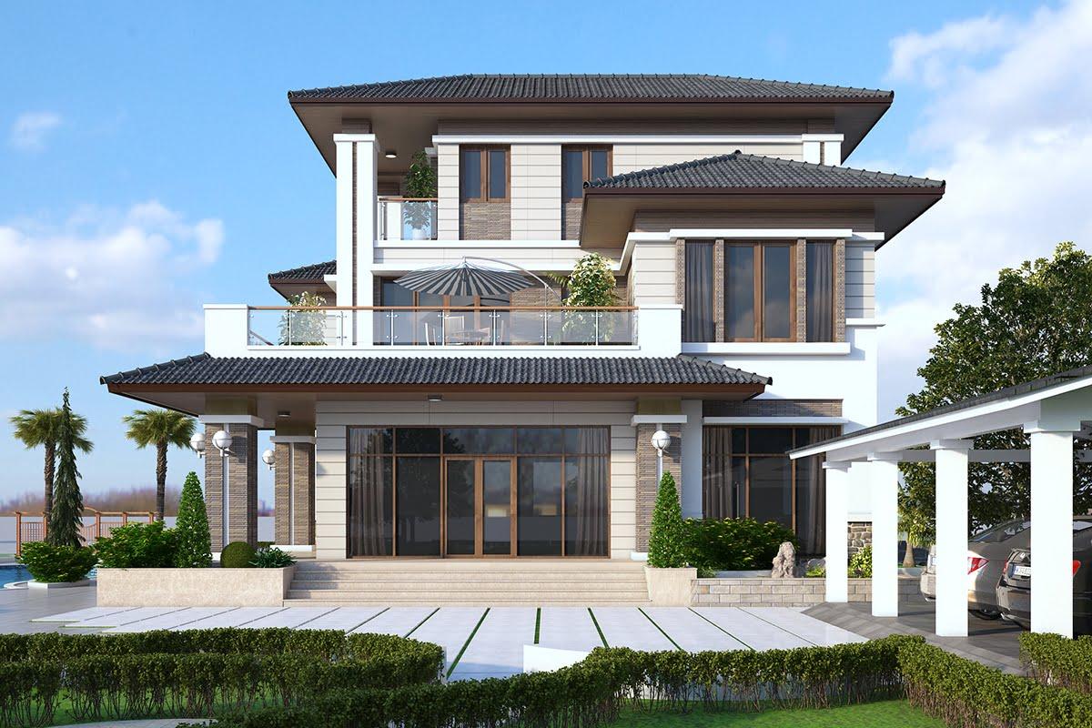 biệt thự đẹp phong cách hiện đại 5