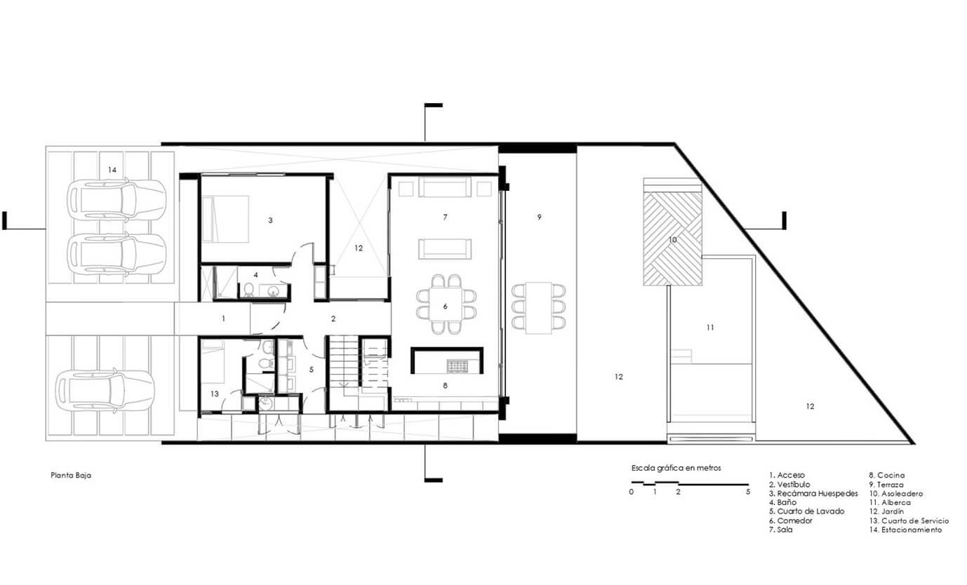 biệt thự hiện đại 370m2 bản vẽ